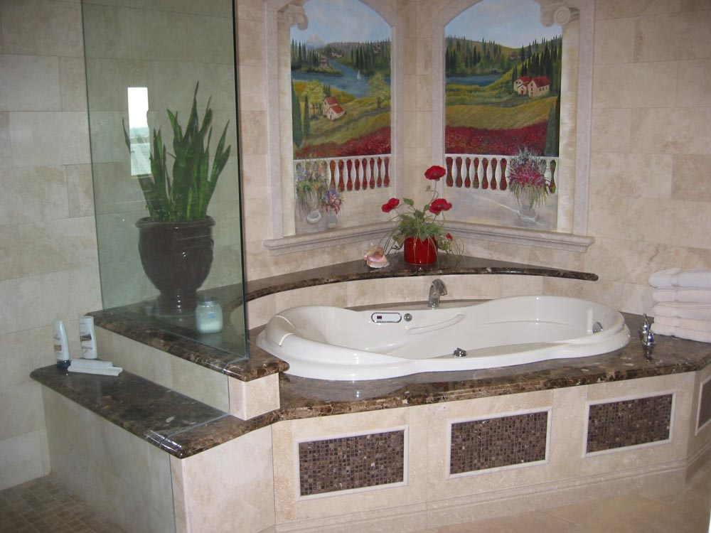 Marble Vanities | Sinks | Showers | Tub Decks - Stone Center