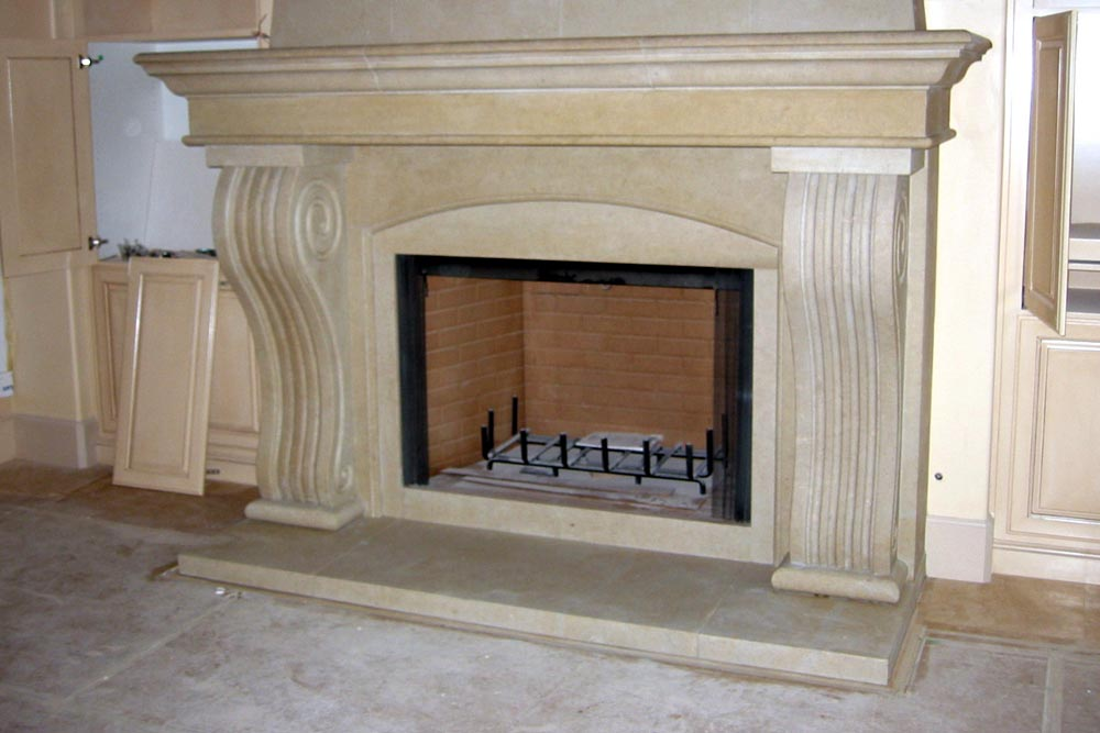 Custom Stone Fireplaces. Custom Limestone Fireplace Surround by Stone Center  Inc Marble Fireplaces Portland OR
