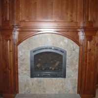 Marble Fireplace Surround by Stone Center, Inc
