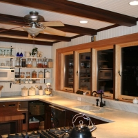 Carrara Marble Kitchen Counter by Stone Center, Inc