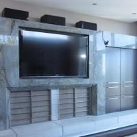 Marble Entertainment Center by Stone Center, Inc