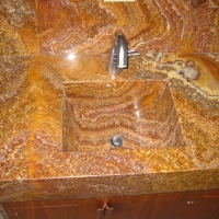 Onyx Integrated Sink by Stone Center, Inc