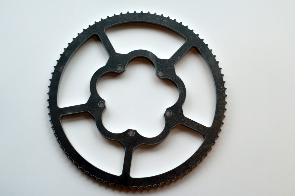 Waterjet Aluminum Gear by Stone Center, Inc