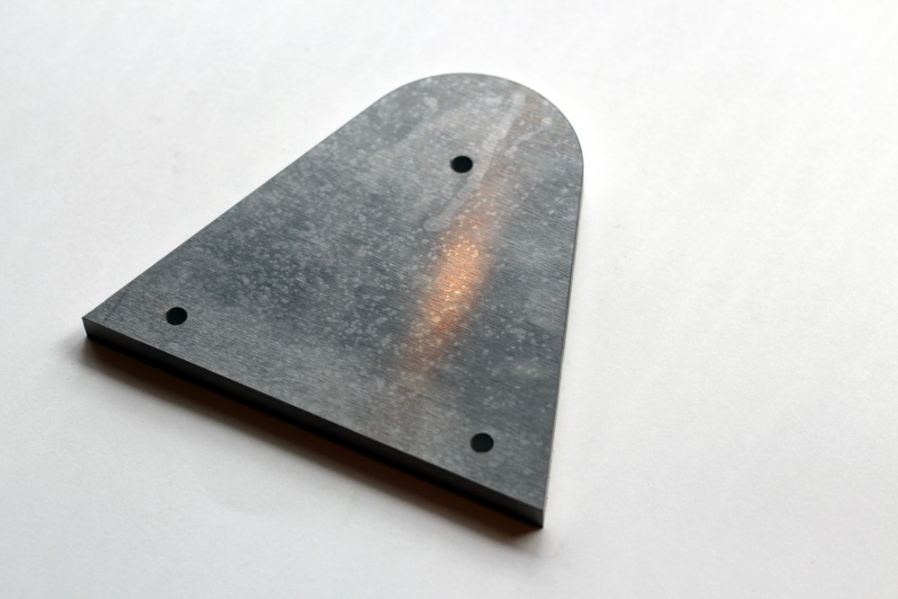 Waterjet Aluminum Welding Plate by Stone Center, Inc