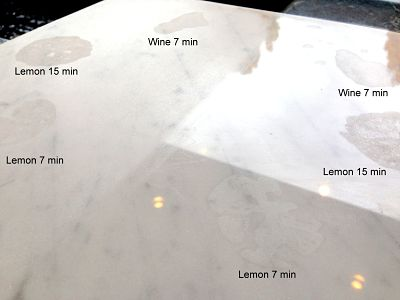 Q Amp A Why Does Marble Etch Stone Center Inc