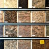 Granite Sample Wall